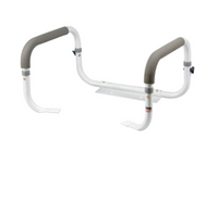 Carex Adjustable Toilet Support Rail