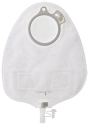 Coloplast Assura New Generation Two-Piece Urostomy Maxi Pouch with Soft Outlet, Multiple Flange Sizes