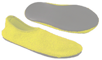 Posey Unisex Fall Management Slippers - Yellow