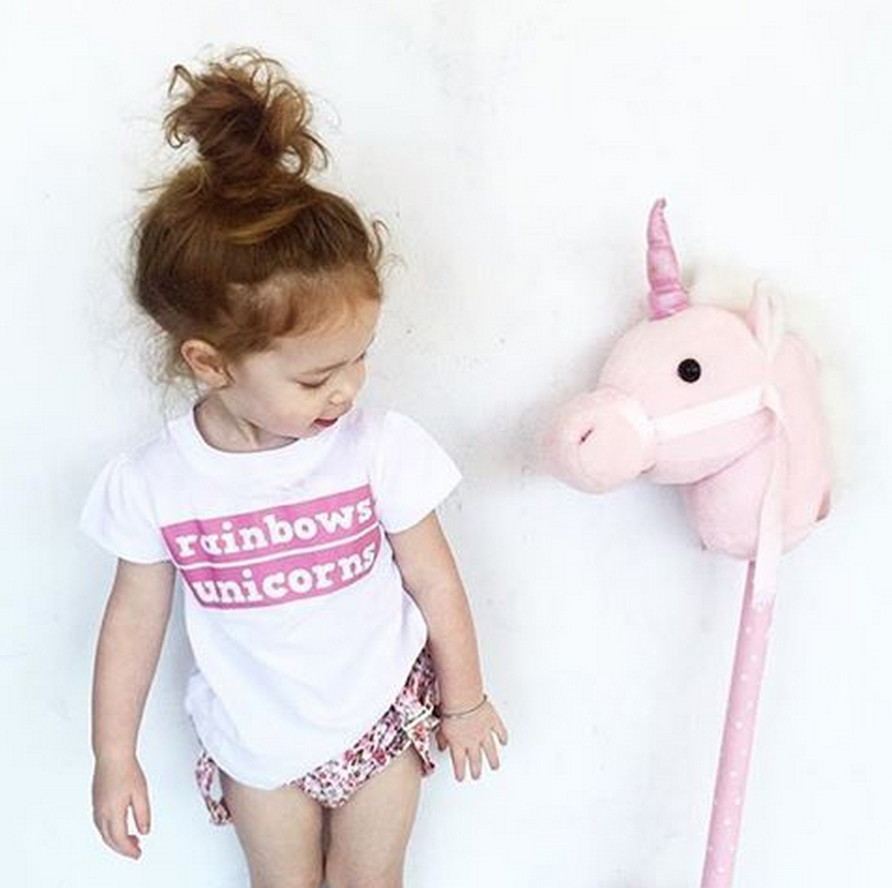 Design your own t-shirt for toddlers -  Rainbows Unicorns Design Your Own Tee For Evia Sheloveslaughslives