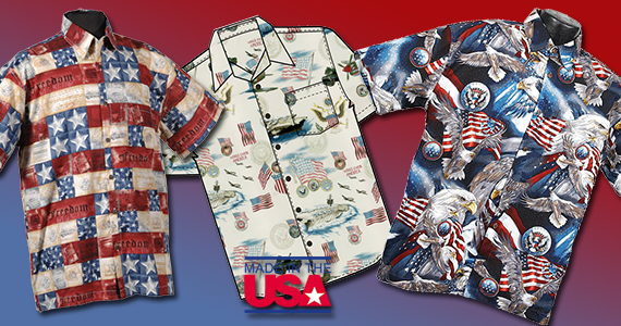 Mens' Patriotic Shirts