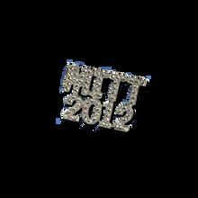 "MITT 2012 Crystal Pin. Approx. 1.25"""
