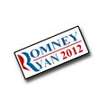 "1"" Romney/Ryan 2012 lapel pin."
