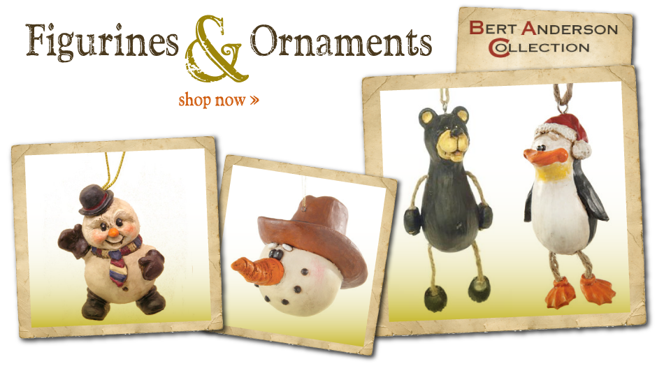 Shop Bert Anderson Ornaments and Figurines on our Online Gift Store!