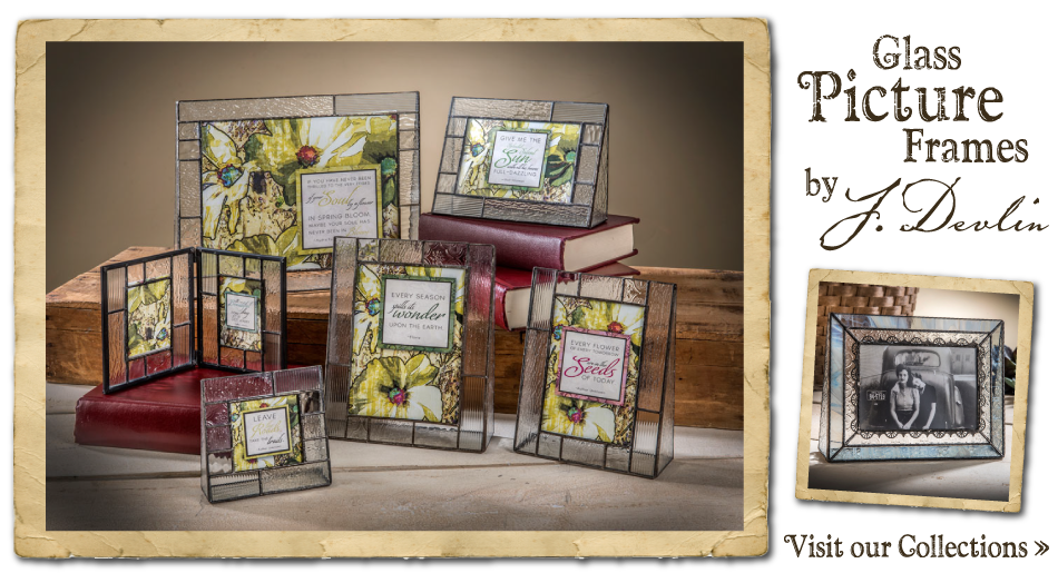 Shop J. Devlin glass photo frames on our online gift store!