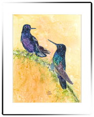 Small Matted Print - Velvet Purple