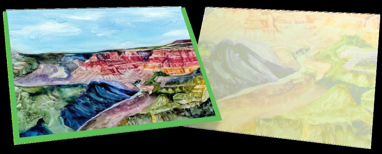 Greeting card grand canyon m4hsunfo