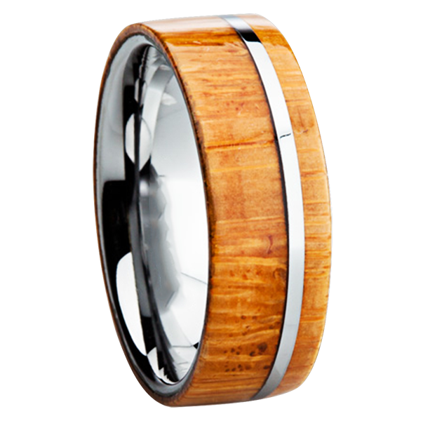 Wood Inlay Rings One of the Hottest Categories of Mens Wedding