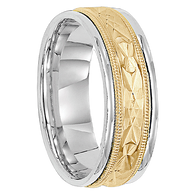 7 mm 14kt. Gold Handcrafted in U.S. - Lisbon
