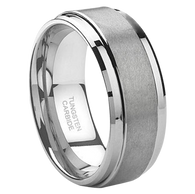 8 mm Tungsten Carbide with Lifetime Warranty - J095C
