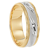 6.5 mm 14kt. Gold Handcrafted in U.S. - Tirana