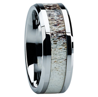 Your custom made ring will not look exactly like the ring pictured in that each ring is handmade from scratch using a unique antler - no two rings will ever look alike! These are rare, collectible rings and as such are NOT covered under our Lifetime Warranties.