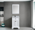 Boston 24 Traditional Bathroom Vanity Set – White