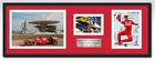 Sebastian Vettel Ferrari Signed Photograph / Frame - Malaysia 1st Ferrari Win 2015 - 1