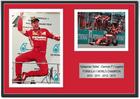 Sebastian Vettel Ferrari Signed Photograph / Frame - Malaysia 1st Ferrari Win 2015 - 4