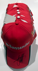 Sebastian Vettel Ferrari Signed 2015 Team Cap