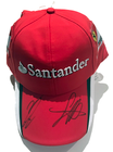 Sebastian Vettel and Kimi Raikkonen Ferrari Signed 2015 Team Cap