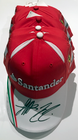 Sebastian Vettel and Kimi Raikkonen Ferrari Signed 2016 Team Cap