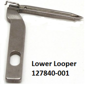 Lower Looper - Brother - Husqvarna - 127840-001 | 127815-001