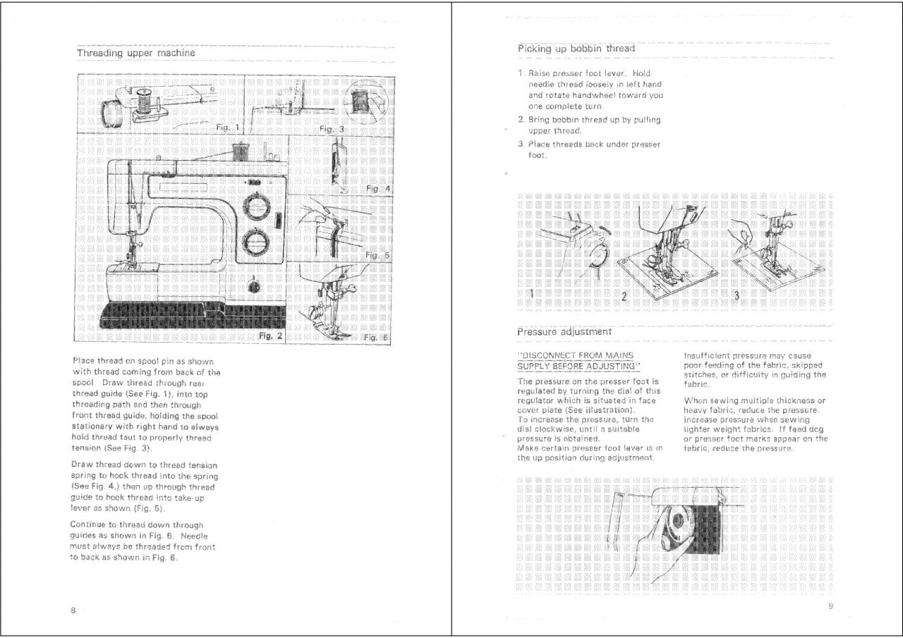 Globe 877 Sewing Machine PDF Instruction Manual