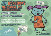 AIM Workshops - Melbourne (French, Mandarin, Japanese) 03/2017