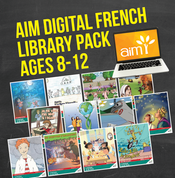 AIM Digital Readers (French) Library Pack for Ages 8-12