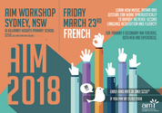 AIM Workshops - Sydney (French) 23/03/2018