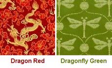Silk brocade zabuton meditation mat comes in several elegant colors.