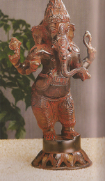 """Standing Ganesha, 10"""" H"""