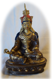 """Guru Rinpoche Statue, 6"""""""