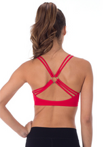 O Ring Back Sports Bra (One Size fits Teen/Adult)