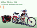 Schwinn Stingray OCC Chopper Build Out Package + 60cc 2 Cycle Center Mount Speedster Bicycle Motor Kit - Standard Clutch