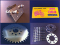 Basic Upgrade Kit for Center Mount Motorized Bicycle Motor