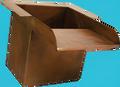 """Custom Copper Box Square 18"""""""