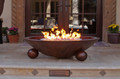 Hammered Copper Fire Bowls