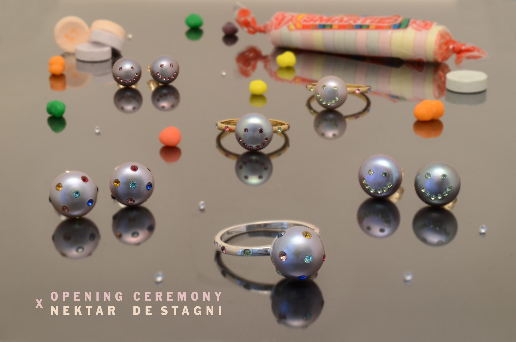 Nektar De Stagni for Opening Ceremony Exclusive Limited Edition Pearl Jewelry