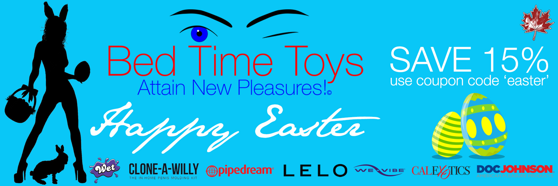 Bed Time Toys, Easter Sale, Sex Toys, Canada