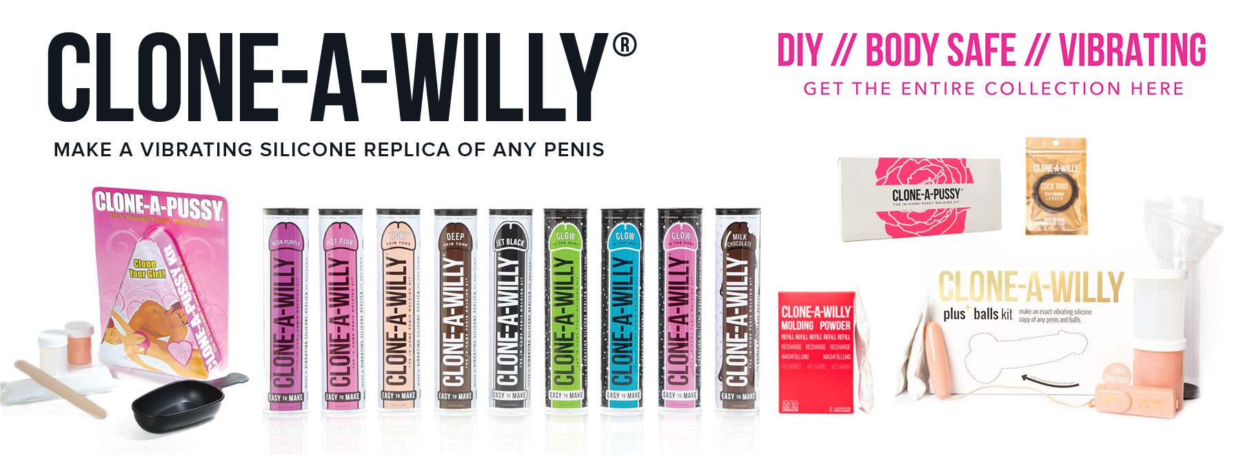 Bed Time Toys, Clone-a-Willy, Best Prices Online