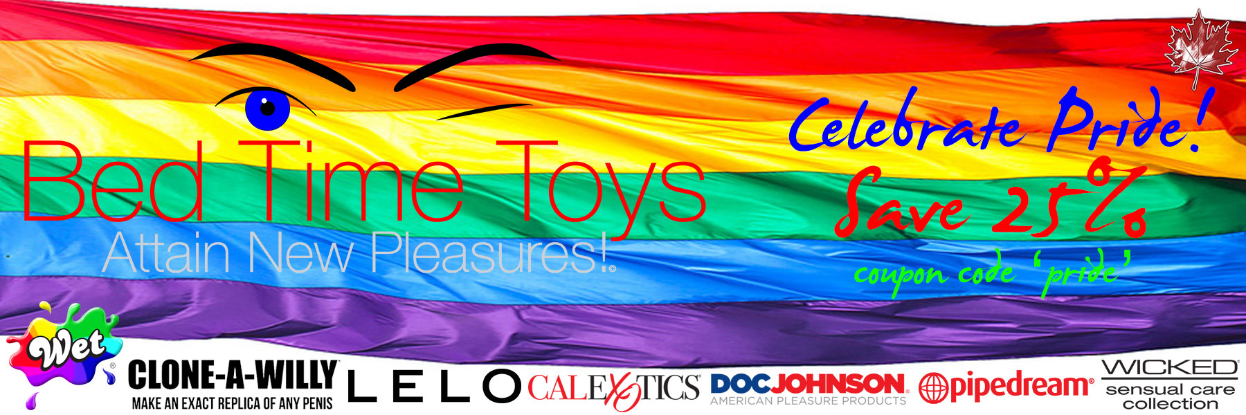 Bed Time Toys, Pride Sale