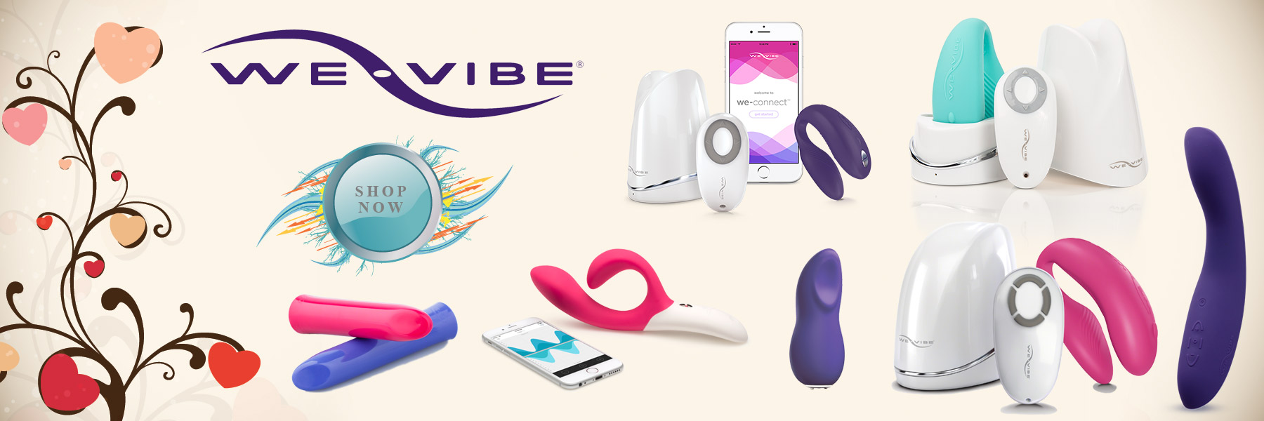 Bed Time Toys, We-Vibe, We Vibe