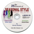 The 16 Elements of Seasonal Style - CD