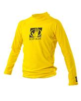 2013 Body Glove Basic Junior Long Arm Lycra Rashguard Yellow