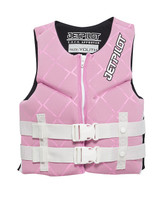 Jet Pilot Youth Neoprene Approved PFD Pink_Front