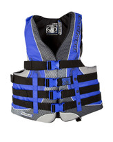 Body Glove Torque 2 USCGA Nylon PFD in Black / Royal - Front