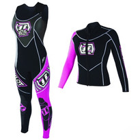 Jet Pilot Apex Race Jane & Jacket Pink - Front