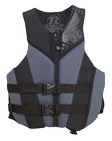 Jet Pilot Cause Neoprene Approved PFD Black - Front