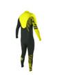 Body Glove CT Slant 4/3 Men's Fullsuit in Black/Yellow - Back