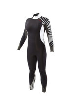 Body Glove Stellar 3/2mm Back Zip Fullsuit Black - Front