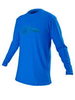 Body Glove JMC Men's Deluxe L/A Lycra Blue - Front