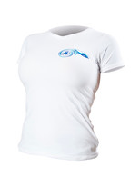 Body Glove JMC Women's S/A Loosefit Rashguard White - Front